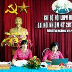 Đại hội chi bộ hội phụ nữ huyện Đô Lương nhiệm kỳ 2017-2020