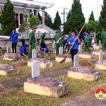 400 Đoàn viên Thanh niên vệ sinh nghĩa trang liệt sỹ Đô Lương