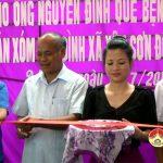 """Quỹ """"Mãi mãi tuổi 20"""" bàn giao nhà tình nghĩa  cho gia đình ông Nguyễn Đình Quế"""