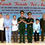 Ban thanh niên quân đội, bệnh viện quân y 4 hành trình tri ân tặng quà, khám cấp thuốc tới  các gia đình chính sách tại huyện Đô Lương.