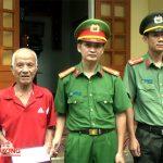 Công an Đô Lương bàn giao công trình nhà tình nghĩa cho thân nhân liệt sỹ Phan Bá Sáu