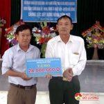 Chi hội doanh nghiệp CCB Nam Đàn hỗ trợ xã Ngọc Sơn, huyện Đô Lươngxây dựng NTM