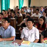 Trung tâm bồi dưỡng chính trị huyện khai giảng lớp sơ cấp lý luận chính trị