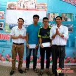 Công ty TNHH Trường An trao thưởng các em học sinh đạt kết quả cao