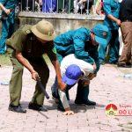 Xã Đặng Sơn tổ chức diễn tập chiến đấu phòng thủ