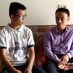 Em Nguyễn Văn Thái đạt 29,75 điểm khối A trong kỳ thi THPT Quốc gia năm 2017