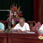 Hội nghị đối thoại Bí thư, Phó bí thư trực Đảng, Chủ tịch UBND xã, thị; Bí thư, Thủ trưởng các cơ quan