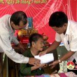 Cơ quan huyện uỷ nhận phụng dưỡng mẹ Nguyễn Thị Yêu
