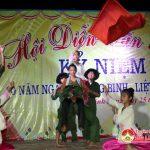 Xã Minh Sơn tổ chức lễ thắp nến tri ân và hội diễn văn nghệ