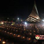 Đô Lương thắp nến tri ân tại nghĩa trang liệt sỹ huyện