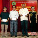 Hội cựu TNXP huyện Đô Lương trao quà cho thân nhân liệt sỹ  và hội viên hội cựu thanh niên xung phong có hoàn cảnh khó khăn