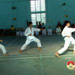 Bộ môn Karate tổ chức thi đấu phong đai