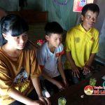Gia đình em Nguyễn Thị Linh ở xóm 5  xã Xuân Sơn, cần được giúp đỡ