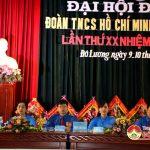 Huyện Đoàn Đô Lương tổ chức Đại hội nhiệm kỳ 2017 – 2022