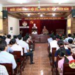 UBND huyện tổ chức hội nghị công tác chuẩn bị Đại hội TDTT huyện Đô Lương lần thứ 8