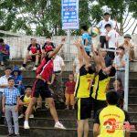 Huyện đoàn Đô Lương tổ chức giải bóng chuyền mở rộng