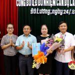 UBND huyện trao quyết định bổ nhiệm cán bộ quản lý
