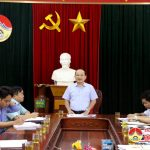 Đoàn Đại biểu Quốc hội tỉnh Nghệ An giám sát tại Đô Lương.