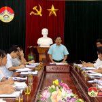 UBND huyện Đô Lương tổ chức phiên họp thường kỳ tháng 8/2017