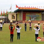 Trung tâm văn hoá tổ chức luyện tập chuẩn bị Đại hội Thể dục – Thể thao lần thứ VIII năm 2017