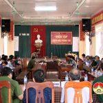 Xã Thuận Sơn diễn tập chiến đấu phòng thủ, phòng chống thiên tai năm 2017