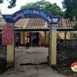 Lãnh đạo huyện Đô Lương kiểm tra cơ sở vật chất trường mầm non Minh Sơn