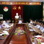 UBND Huyện tổ chức hội nghị giao ban khối văn xã đánh giá kết quả 9 tháng đầu năm và triển khai nhiệm vụ 3 tháng cuối năm.