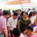 Đô Lương tổ chức hiến máu tình nguyện đợt 2 năm 2017