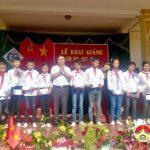 Trường THCS xã Đại Sơn đã tổ chức lễ khai giảng năm học mới 2017-2018