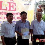 Dòng họ Thái Bá xã Yên Sơn tổ chức lễ trao thưởng khuyến học.