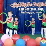 Trường Mầm non Đặng Sơn khai giảng năm học mới.