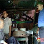 Đồng chí Nguyễn Trung Thành kiểm tra phòng chống bão số 10
