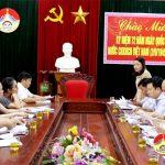 Đoàn giám sát HĐND tỉnh làm việc tại Đô Lương về công tác XKLĐ