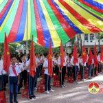 Trường THCS Lý Nhật Quang tổ chức lễ giảng năm học 2017 – 2018