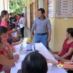 Bệnh viện Quốc tế Vinh tổ chức khám cấp thuốc cho phụ nữ 6 xã.