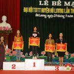 Đô Lương tổ chức bế mạc và trao thưởng Đại hội TDTT lần thứ VIII năm 2017