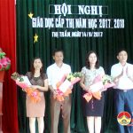 Thị trấn Đô Lương tổ chức hội nghị công tác giáo dục  năm học 2016 – 2017
