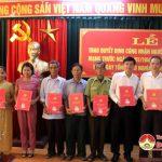 Huyện uỷ Đô Lương trao Quyết định công nhận người hoạt động cách mạng