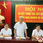 BCH Đảng bộ huyện sơ kết công tác xây dựng Đảng 9 tháng đầu năm, triển khai nhiệm vụ quý 4 năm 2017