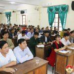 HĐND huyện: Tập huấn nghiệp vụ cho thường trực và 2 ban HĐND.