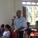 Xã Trù Sơn tổ chức diễn đàn Công an lắng nghe ý kiến của nhân dân