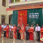 Xã Ngọc Sơn tổ chức lễ kỷ niệm 64 năm ngày thành lập xã và khánh thành trụ sở.
