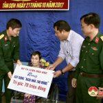 Bàn giao ngôi nhà 100 đồng cho bà Nguyễn Thị Thoại