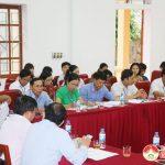 UBND huyện rà soát các tiêu chí nông thôn mới  của xã Đặng Sơn
