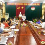 Hội nghị thống nhất nội dung kỳ họp thứ 5 HĐND huyện khóa XIX