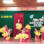Xã Thịnh Sơn tổ chức hội thi tìm hiểu về  công tác dân số Kế hoạch hoá gia đình và môi trường năm 2017