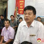 Tiếp xúc cử tri và ngày hội Đại đoàn kết tại khối 4 Thị Trấn
