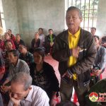 Đại biểu HĐND huyện tiếp xúc cử tri xóm 15, xã Trù Sơn