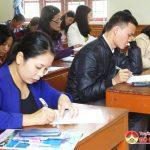 Phòng GD &ĐT Đô Lương tổ chức hội thi giáo viên dạy giỏi huyện cấp THCS