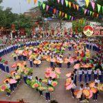Trường THCS Lý Nhật Quang, huyện Đô Lương Kỷ niệm 40 năm ngày thành lập trường.
